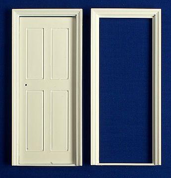 Internal Door - plastic & DIY - Doors - Internal Door - plastic - Dolls House Parade for Dolls ...