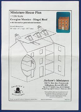 Dolls Houses - Houses - Plans - Georgian Mansion - Dolls House ...