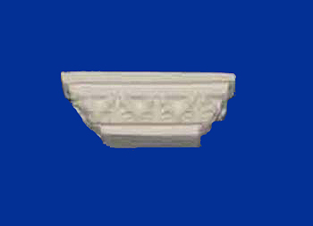Coving Column Caps Small Leaf