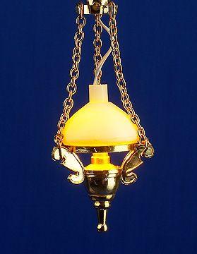Dolls House Light - Hanging oil lamp