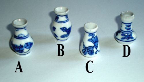 Blue & White China Vase