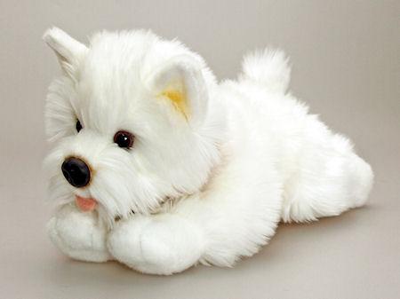Soft Toys Dogs Westie Dog 30cm Dolls House Parade