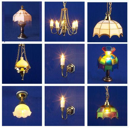 Lighting Sets Lights Set 8 Dolls House Parade