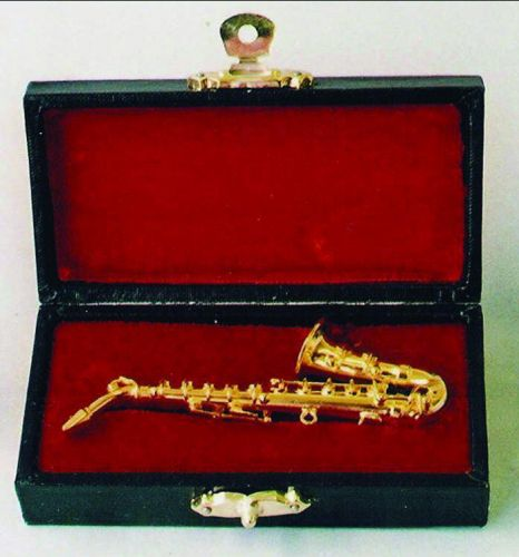 Music Room - Instruments - Saxophone With Case - Dolls House