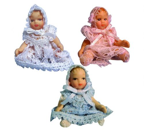 Porcelain Baby - In Lace Choice Of Colour