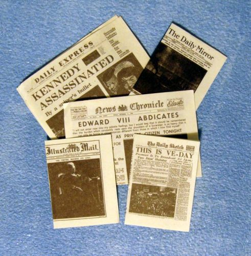 Pack Of Event Newspapers