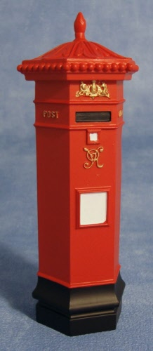 New Items Victorian Post Box Dolls House Parade For