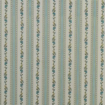 Wallpapers Floral Wallpaper Floral Stripe Blue