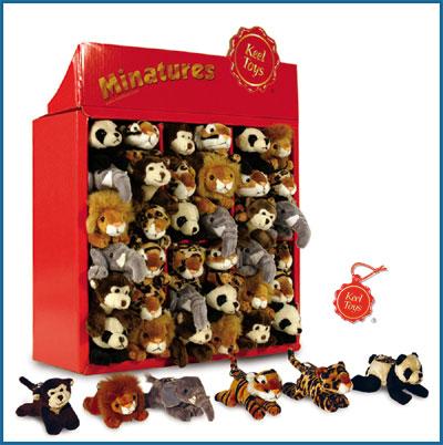 Soft Toys Wild Animals Keyclip Wild Animal Dolls
